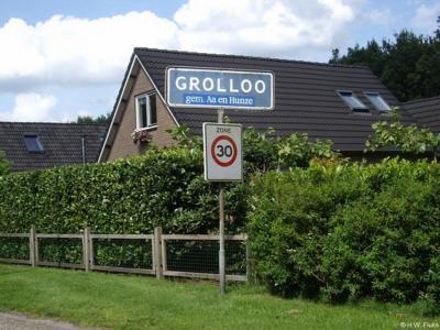 Grolloo is een dorp in de provincie Drenthe, gemeente Aa en Hunze. T/m 1997 gemeente Rolde.