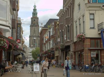 Op stap in de Zwanestraat in Groningen
