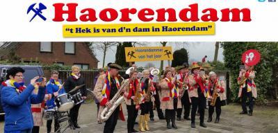 Tijdens carnaval gaat het hek van d'n dam in Haarsteeg oftewel tijdens carnaval Haorendam.