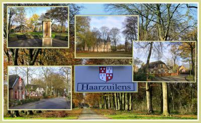 Haarzuilens, collage van dorpsgezichten (© Jan Dijkstra, Houten)