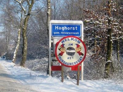 Haghorst is een jong, klein en zeer actief dorp in de gemeente Hilvarenbeek. Tijdens carnaval heet het dorp het Durdauwersgat. In het hoofdstuk Jaarlijkse evenementen kun je lezen waar die naam vandaan komt.