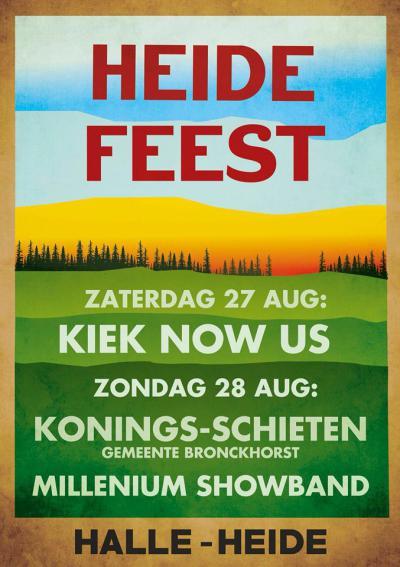 """Het Heidefeest (eind augustus) wordt wél jaarlijks gehouden, en is volgens de website """"het áller-gezelligste dorpsfeest van de hele Achterhoek"""". Het is maar dat je het weet..."""