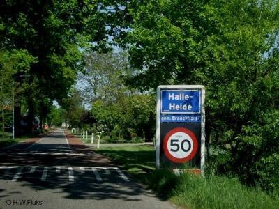 Halle-Heide is een buurtschap in de provincie Gelderland, in de streek Achterhoek, gemeente Bronckhorst. T/m 2004 gemeente Zelhem. De buurtschap valt onder het dorp Halle.
