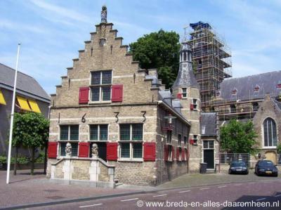 Halsteren, voormalig raadhuis uit 1633