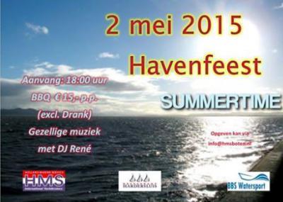 De ondernemers van de Harderhaven organiseren in mei of juni het Havenfeest