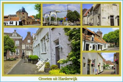 Harderwijk, collage van stadsgezichten (© Jan Dijkstra, Houten)