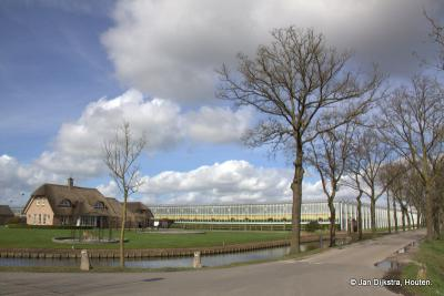 Het is daar heerlijk wandelen, op de oever van de Leidse Rijn in buurtschap Harmelerwaard