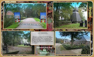 Hartwerd, collage van dorpsgezichten (© Jan Dijkstra, Houten)