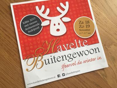 Kom de wintersfeer proeven op het evenement Havelte Buitengewoon (weekend in november) en maak kennis met wat deze groep Havelter ondernemers te bieden heeft.