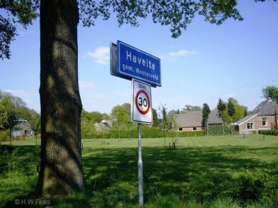 Havelte is een dorp in de provincie Drenthe, gemeente Westerveld. Het was een zelfstandige gemeente t/m 1997.