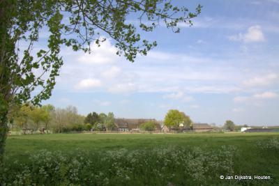Zon en schaduw in het landschap van buurtschap Heemstede