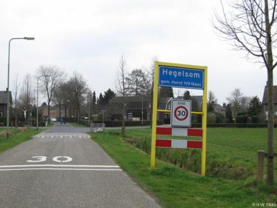 Hegelsom is een dorp in de provincie Limburg, in de streek Noord-Limburg, gemeente Horst aan de Maas. T/m 2000 gemeente Horst.