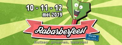 Als je van rabarber houdt, kun je je jaarlijks in een weekend in mei uitleven tijdens het Rabarberfeest Heide.