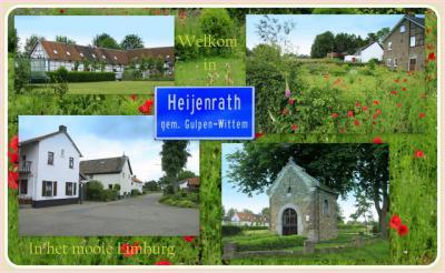 Heijenrath, collage van buurtschapsgezichten (© Jan Dijkstra, Houten)