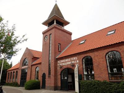 Sinds 1987 is in de voormalige klokkengieterij van de gebroeders Van Bergen, uit 1862, Klokkengieterijmuseum Heiligerlee gevestigd. (© Harry Perton/https://groninganus.wordpress.com)