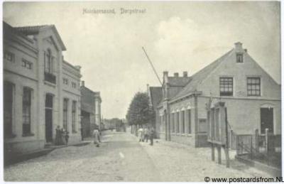 Heinkenszand Dorpsstraat ca. 1910