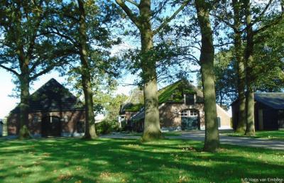Buurtschap Helhuizen, boerderijcomplex op Helhuizerweg 6