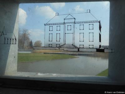 Hengelo, tekening van het Huys Hengelo zoals het er destijds moet hebben uitgezien.