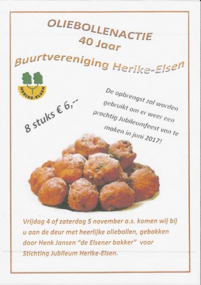 Buurtvereniging Herike-Elsen is opgericht in 1977 en heeft dus in 2017 het 40-jarig jubileum gevierd.