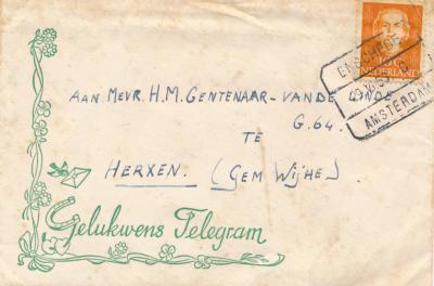 Post naar iemand in Herxen had vroeger in het adres gewoon de plaatsnaam Herxen. In 1978 zijn helaas veel kleine kernen adresmatig onder een groter buurdorp 'weggemoffeld', waardoor bij Herxenaren in hun post nu Wijhe als plaatsnaam staat.