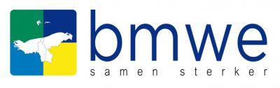 Dit was het logo van de fusiegemeenten Bedum, De Marne, Winsum en Eemsmond zolang de definitieve naam van de nieuwe gemeente (Het Hogeland) nog niet bekend was. BMWE is een samenstelling van de eerste letters van de vier gemeenten.
