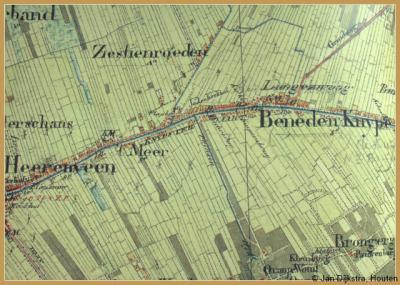 Op deze kaart anno ca. 1855 is goed te zien 1) dat Het Meer en Zestienroeden toen nog als aparte buurtschappen werden beschouwd en 2) dat ze onder verschillende gemeenten vielen, nl. resp. Schoterland (= Sd) en Aengwirden (= An).