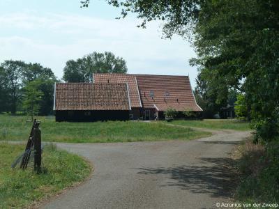 Buurtschap Heurne, boerderij achter D'n Heurnsen Tref