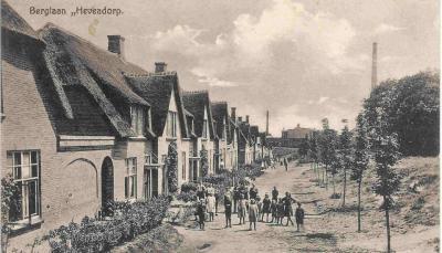 Ansichtkaart van Heveadorp uit de begintijd van het dorp (ca. 1920)