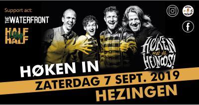 """""""Na een aantal donders mooie optredens van de Heinoos goat wie noe echt Høken in Hezingen! Zaterdag 7 september 2019 geet het los aan de Hooidijk. Doar wil ie toch ook bie wen'n!"""" Aldus de organisatie."""