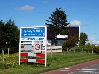 Hippolytushoef is een dorp in de provincie Noord-Holland, in de streek Kop van Noord-Holland, gemeente Hollands Kroon. T/m 2011 gemeente Wieringen.