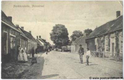 Hoedekenskerke Molenstraat 1907