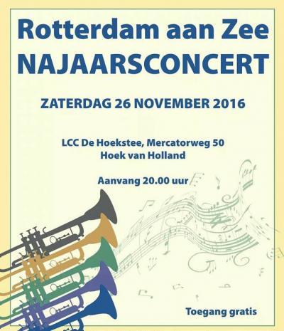 Harmonievereniging Rotterdam aan Zee, in Hoek van Holland, is in 1917 opgericht en heeft dus in 2017 het 100-jarig bestaan gevierd