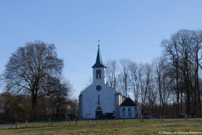 Hoenderloo, ook de Heldringkerk, uit 1858, is genoemd naar dominee Heldring, ...