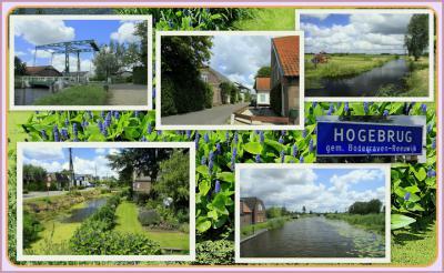 Hogebrug, collage van buurtschapsgezichten (© Jan Dijkstra, Houten)