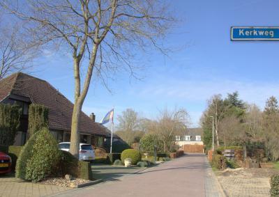 Buurtschap Hogewaard, Kerkweg (© Jan Dijkstra, Houten)