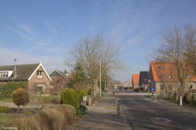 Buurtschap Hogewaard, Tiendweg (© Jan Dijkstra, Houten)