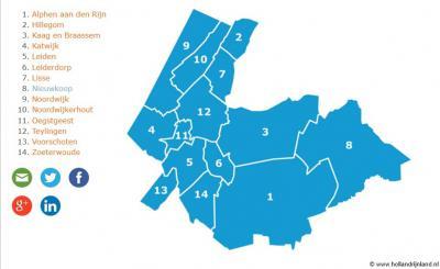 Namen komen en namen gaan. Dat geldt ook voor streeknamen. Zo is er sinds 2004 het regionale samenwerkingsverband Holland Rijnland, dat geleidelijk ook als streeknaam gangbaar aan het worden is, en de oude streeknaam Rijnland vervangt.