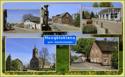 Hoogblokland is een dorp in de provincie Zuid-Holland, in de streek Alblasserwaard, gem. Molenlanden. Het was een zelfstandige gem. t/m 1985. In 1986 over naar gem. Giessenlanden, in 2019 over naar gem. Molenlanden. (© Jan Dijkstra, Houten)