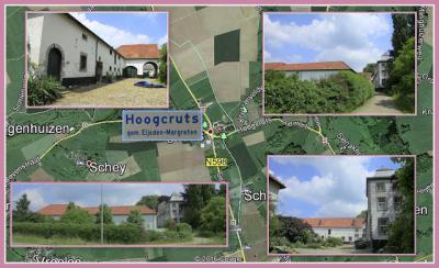 Hoogcruts, collage van buurtschapsgezichten (© Jan Dijkstra, Houten)