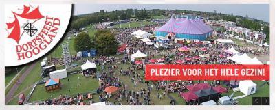 Tijdens het Dorpsfeest Hoogland staat het dorp vier dagen lang op zijn kop met van alles te doen op het gebied van sport en spel, livemuziek, paardensport, shows etc. etc.; 30.000 bezoekers en 900 vrijwilligers maken dit elk jaar weer tot een groot succes