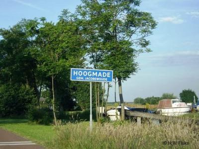 Hoogmade is een dorp in de provincie Zuid-Holland, gemeente Kaag en Braassem. Het was een zelfstandige gemeente t/m 31-8-1855. Per 1-9-1855 over naar gemeente Woubrugge, in 1991 over naar gemeente Jacobswoude, in 2009 over naar gemeente Kaag en Braassem.