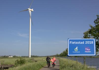 Het is Houten in 2018 weer gelukt om fietsstad van Nederland te worden. Bravo!