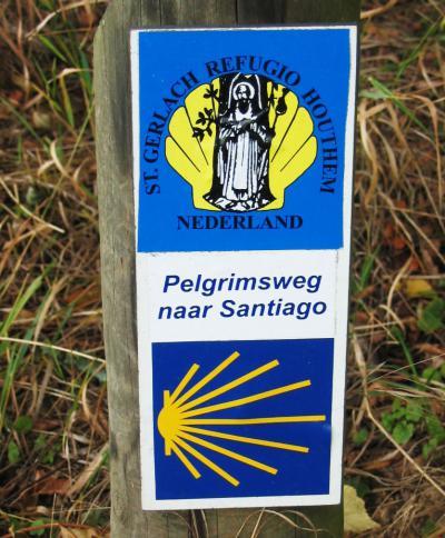 Het Sint Jacobsgenootschap heeft Houthem sinds 2015 opgenomen in de hoofdroute van de beroemde pelgrimstocht naar het Spaanse Santiago de Compostela, die velen jaarlijks te voet of per fiets ondernemen. Weer een extra toeristische 'ster' voor het dorp.
