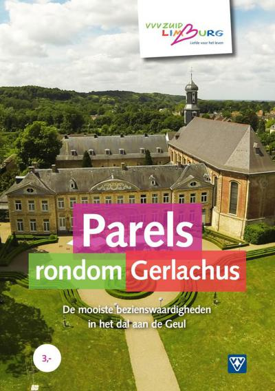De nieuwe wandelbrochure 'Parels rondom Gerlachus' vertelt je in tekst en beeld over 29 bezienswaardigheden in en rondom Houthem-Sint Gerlach. De route kun je zelf samenstellen. De route is bij lokale ondernemers te verkrijgen en ook online te bekijken.