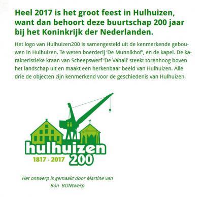 In 2017 hebben de inwoners van buurtschap Hulhuizen met diverse evenementen en activiteiten gevierd dat ze in dat jaar 200 jaar bij Nederland horen.
