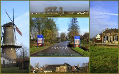 Ingen, collage van dorpsgezichten (© Jan Dijkstra, Houten)