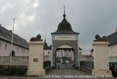 Itteren, kasteel Meerssenhoven.