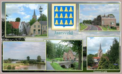 Jaarsveld, collage van dorpsgezichten (© Jan Dijkstra, Houten)