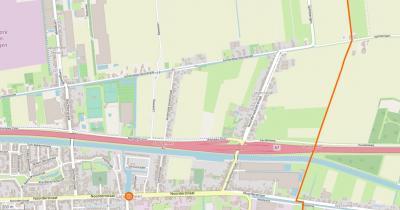 De open source community OpenStreetMap doet gewoon zijn eigen ding en heeft Jagerswijk gelukkig nog wél als plaatsnaam en daarmee buurtschap op hun kaart gehandhaafd. (© www.openstreetmap.org)