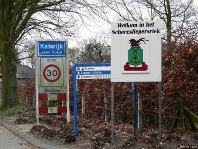 Katwijk is een dorp in de provincie Noord-Brabant, in de regio Noordoost-Brabant, en daarbinnen in de streek Land van Cuijk, gemeente Cuijk. T/m 31-7-1942 gemeente Linden. Tijdens carnaval heet het dorp Scheresliepersriek.